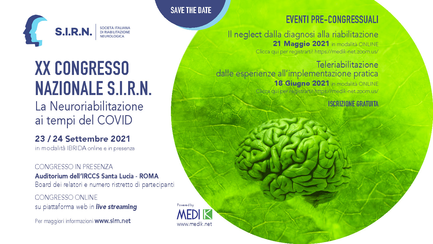 """Featured image for """"XX Congresso nazionale SIRN"""""""
